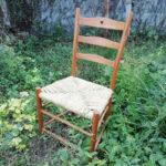 藤田幸平「生木から作る椅子」